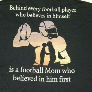 Other - Football Mom believed in him 1st 2XL Tshirt